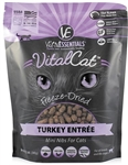 Vital Essentials Vital Cat Freeze-Dried Turkey Mini Nibs Entrée  12oz
