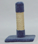 Classy Kitty Sisal Decorator Cat Post 20in