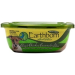 Earthborn Holistic Tub Dog Food Chips Chicken Casserole 8oz  (Case of 8)