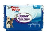 Four Paws Super Absorbent Wee Wee Pads 40ct