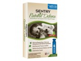 SENTRY Natural Defense Flea & Tick Squeeze-On Dog Under 15lb 4ct