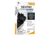 SENTRY FiproGuard Dog Flea & Tick Squeeze-On up to 22lb 3ct