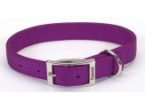 Coastal Double-Ply Nylon Collar Purple 1X18in