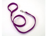 Coastal Double-Ply Nylon Leash Purple 1X4ft