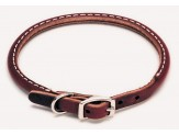 Coastal Circle T Latigo Leather Round Collar 3/8X14in