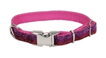 "Coastal Pet Pet Attire Sparkles Adjustable Collar, 5/8"" pink x 8"" - 12"""