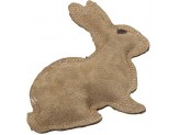 Ethical Products Spot Dura-Fused Leather & Jute Rabbit Small