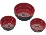 Ethical Products Spot Fresco Dish Cat Red 5in