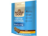 NUTRO NATURAL CHOICE Adult Tartar Control Dog Biscuits Chicken & Whole Brown Rice Recipe 32 Ounces