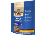 NUTRO NATURAL CHOICE Large Breed Adult Dog Biscuits Chicken and Whole Brown Rice Recipe 32 Ounces