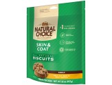 NUTRO NATURAL CHOICE Adult Skin and Coat Dog Biscuits Healthy Skin and Coat Recipe 32 Ounces