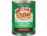 Nutro Savory Lamb & Rice Recipe Can Puppy Food 12ea/12.5oz