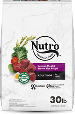 NUTRO WHOLESOME ESSENTIALS  Adult Venison Meal, Brown Rice & Oatmeal Recipe 30 Pounds