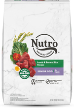 NUTRO WHOLESOME ESSENTIALS Pasture-Fed Lamb & Rice Recipe Senior Dry Dog Food 30 Pounds