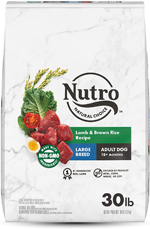 NUTRO WHOLESOME ESSENTIALS Pasture-Fed Lamb & Rice Recipe Large Breed Adult Dry Dog Food 30 Pounds