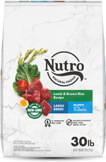 NUTRO WHOLESOME ESSENTIALS Pasture-Fed Lamb & Rice Recipe Large Breed Puppy Dry Dog Food 30 Pounds