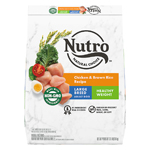 NUTRO WHOLESOME ESSENTIALS Healthy Weight Farm-Raised Chicken, Rice & Sweet Potato Recipe Large Breed Adult Dry Dog Food 30 Pounds