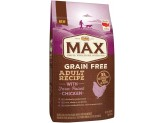 NUTRO MAX Adult Grain Free Recipe With Farm Raised Chicken Dry Dog Food 4 Pounds