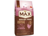 NUTRO MAX Adult Grain Free Recipe With Farm Raised Chicken Mini Chunk Dry Dog Food 4 Pounds