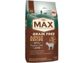 NUTRO MAX Adult Grain Free Recipe With Pasture Fed Lamb Dry Dog Food 4 Pounds