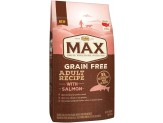 NUTRO MAX Adult Grain Free Recipe With Salmon Dry Dog Food 4 Pounds