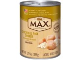 Max Chicken & Rice Dinner Senior Can 12ea/12.5oz