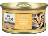 Max Chicken & Oceanfish Formula Can Kitten Food 24ea/3oz