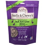 Stella & Chewys Cat Freeze Dried Duck Duck Goose Dinner  3.5 Oz.