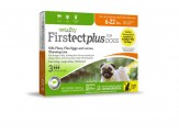 Vetality Firstect Plus Dogs 6-22 lbs 3 Doses