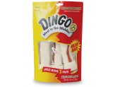 Dingo Large White Value Bag 10.5oz 3pk