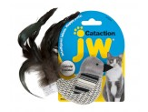 JW Pet Cataction Black And White Bird