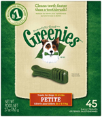 GREENIES Original Petite Dog Dental Chews - 27 Ounces 45 Treats