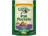 GREENIES PILL POCKETS Grain Free Dog Treats Duck and Pea Formula - Capsule Size 6.6 oz. 25 Treats