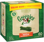 GREENIES Original Petite Dog Dental Chews - 36 Ounces 60 Treats