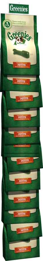 GREENIES Original Petite Dog Dental Chews - 6 Ounces 10 Treats
