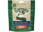 GREENIES Hip and Joint Petite Dental Dog Chews - 6 Ounces 10 Treats