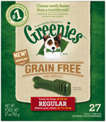GREENIES Grain-free Regular Size Dog Dental Chews - 27 Ounces 27 Treats