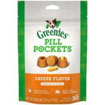 Greenies Pill Pockets Dog Treats, 7.9oz Cheese, Capsules - 30 count