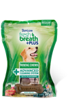 Tropiclean Fresh Breath Dog Dental Treat Advanced Medium 10Ct