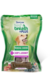 Tropiclean Fresh Breath Dog Dental Treat Hip Medium 10Ct