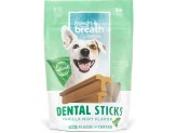 Fresh Breath by TropiClean Dental Stick Dog Treat 25+lbs Regular 8pc