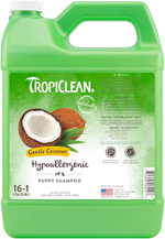 TropiClean Hypo- Allergenic Gentle Coconut 16:1 Puppy Shampoo 1gal