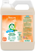 TropiClean Natural Flea and Tick Shampoo Plus Soothing Dog Shampoo 1gal
