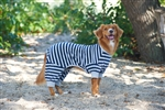 Ethical Pet Striped Pajama Blue Medium