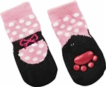 Fashion Pet Ballet Slipper Sock Medium
