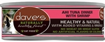 Daves Naturally Healthy Cat Food, Ahi Tuna / Shrimp Case of 24