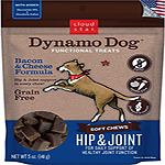 Cloud Star Dynamo Dog Hip & Joint Soft Chews Bacon & Cheese Formula Dog Treats, 14-oz. bag