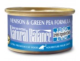 Natural Balance L.I.D. Venison & Green Pea Formula Canned Cat Food 3oz  (Case of 24)