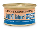 Natural Balance L.I.D. Salmon & Green Pea Formula Canned Cat Food 3oz  (Case of 24)