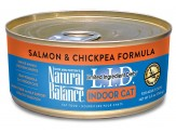 Natural Balance LID Indoor Cat Salmon & Chickpea Formula 5.5oz /24pk